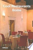 libro Cool Restaurants Rome