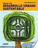 libro Hacia Un Desarrollo Urbano Sustentable