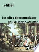 libro Los Años De Aprendizaje De Guillermo Meister