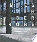 libro Mies Van Der Rohe