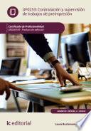 libro Contratación Y Supervisión De Trabajos De Preimpresión. Argn0109