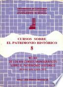 Cursos Sobre El Patrimonio Histórico 8