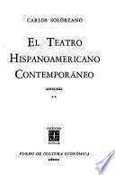 El Teatro Hispanoamericano Contemporáneo