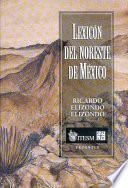 Lexicón Del Noreste De México