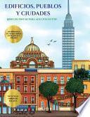 libro Libro De Pintar Para Adultos En Pdf (edificios, Pueblos Y Ciudades)