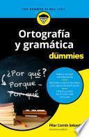 libro Ortografía Y Gramática Para Dummies