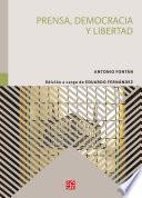 libro Prensa, Democracia Y Libertad
