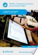 libro Preparación De Archivos Para La Impresión Digital. Argi0209
