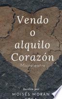 libro Vendo O Alquilo Corazón
