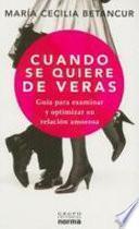 libro Cuando Se Quiere De Veras