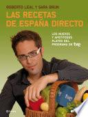 libro Las Recetas De España Directo
