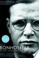 libro Bonhoeffer