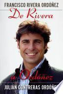 libro De Rivera A Ordóñez