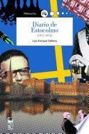 libro Diario De Estocolmo