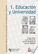 libro Educación Y Universidad