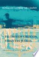 libro Filósofos Griegos, Videntes Judíos