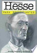 libro Hermann Hesse Para Principiantes