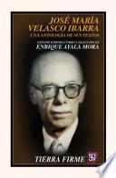 libro José María Velasco Ibarra