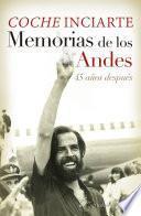 libro Memorias De Los Andes