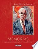 libro Memorias. Recuerdos Personales Y Políticos