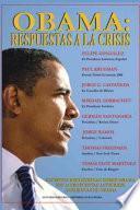 libro Obama: Respuestas A La Crisis