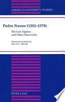 libro Pedro Nunes (1502 1578)