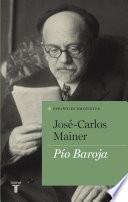 libro Pío Baroja (españoles Eminentes)