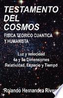 libro Testamento Del Cosmos