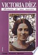 libro Victoria Díez