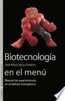 libro Biotecnología En El Menú