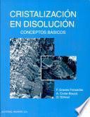 libro Cristalización En Disolución