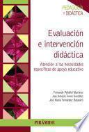 libro Evaluación E Intervención Didáctica