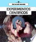 libro Experimentos Científicos