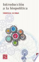 libro Introducción A La Biopolítica
