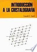libro Introducción A La Cristalografía
