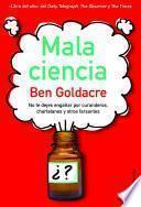 libro Mala Ciencia