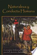 libro Naturaleza Y Conducta Humana