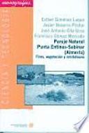 libro Paraje Natural Punta Entinas Sabinar (almería)