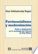 libro Patrimonialismo Y Modernización