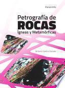 libro Petrografía De Rocas Ígneas Y Metamórficas