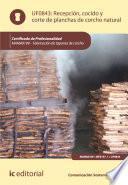 libro Recepción, Cocido Y Corte De Planchas De Corcho Natural. Mama0109