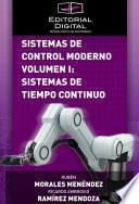 libro Sistemas De Control Moderno. Volumen I: Sistemas De Tiempo Continuo