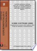 libro Sobre Software Libre