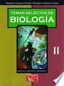 libro Temas Selectos De Biología Ii
