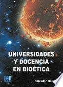 Universidades Y Docencia En Bioética