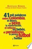 41 Mil Palabras Sobre Colombia