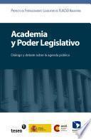 libro Academia Y Poder Legislativo