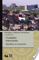 libro Ciudades Mexicanas