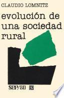 Evolución De Una Sociedad Rural