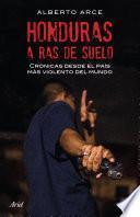 libro Honduras A Ras De Suelo